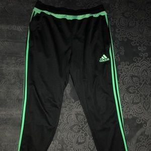 Adidas Climacool Men's Jogger Pants XL BLK/GRN